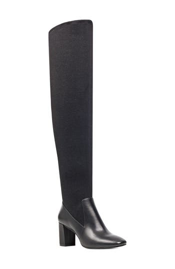 Nine West Xperian Over The Knee Boot, Black