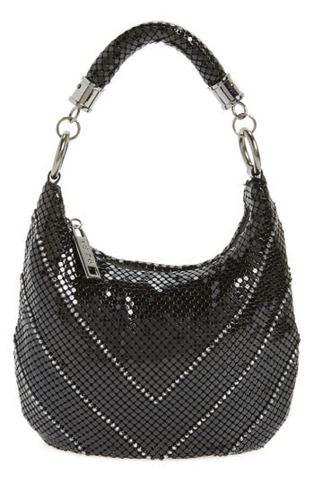 Whiting & Davis Little Black Mesh Shoulder Bag - Black at NORDSTROM.com