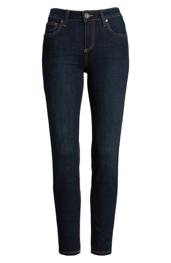 Kut From The Kloth Diana Kurvy Stretch Ankle Jeans, Blue