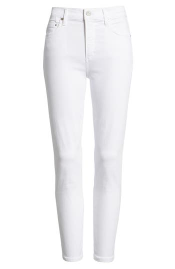Rocket High Waist Crop Skinny Jeans