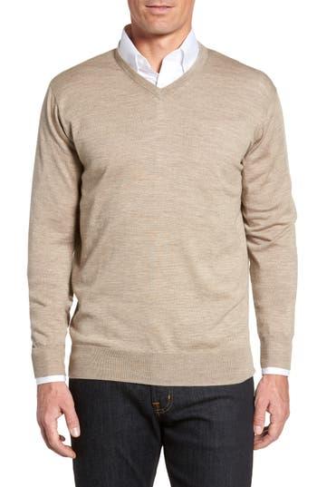 Peter Millar Merino Sweater, White