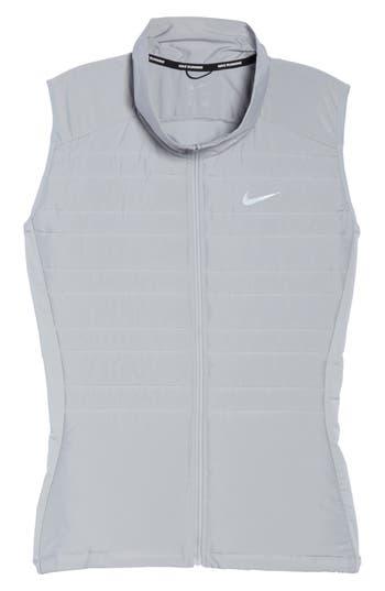 Plus Size Nike Essentials Running Vest, Grey