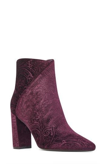 Nine West Argyle Bootie, Purple