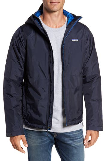 Patagonia Torrentshell H2No Packable Insulated Rain Jacket, Blue