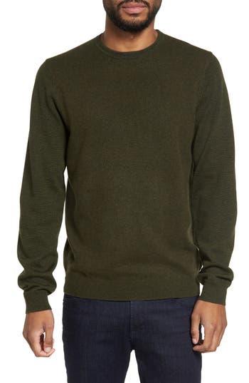 Calibrate Merino Wool Blend Sweater, Green