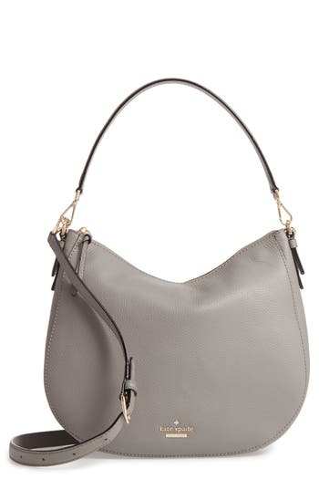 Kate Spade New York Jackson Street Mylie Leather Hobo - Grey