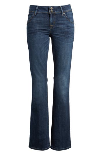 Petite Hudson Jeans Beth Baby Bootcut Jeans, Blue