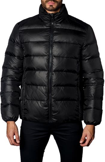 Jared Lang Down Puffer Jacket, Black