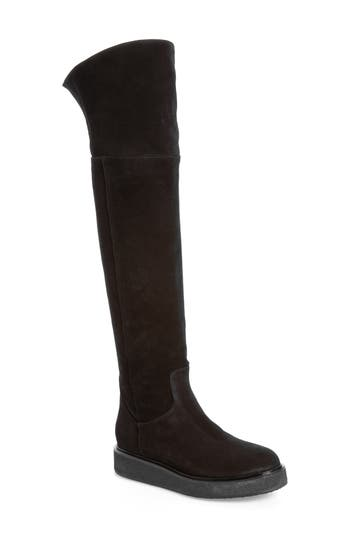 Alberto Fermani Sorrento Over The Knee Boot, Black