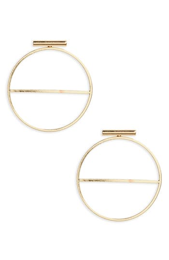 Women's Bp. Circle Bar Earrings