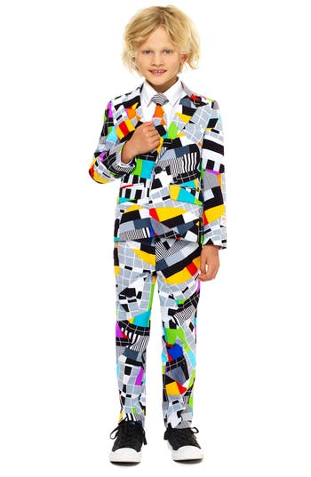 Boys Oppo Testival TwoPiece Suit With Tie