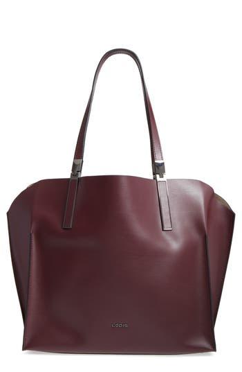 Lodis Blair Collection - Anita Leather Tote - Burgundy