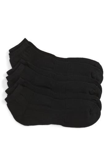 Nordstrom Men's Shop 3-Pack No-Show Athletic Socks