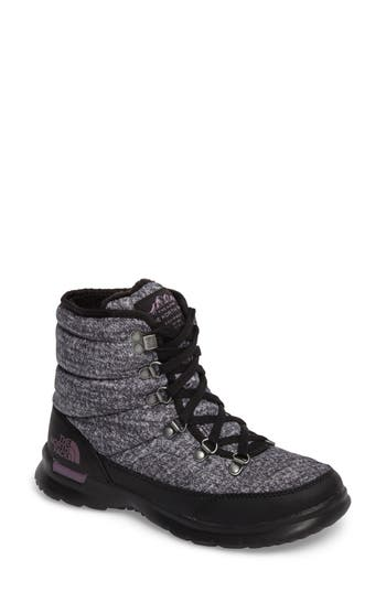 The North Face Lace Ii Thermoball(TM) Insulated Winter Boot, Grey