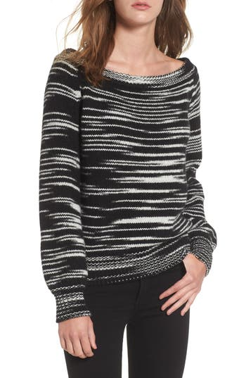 Rebecca Minkoff Shelby Merino Blend Sweater, Black