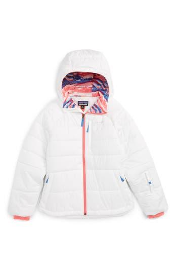 Girl's Patagonia Aspen Grove Water Resistant Hooded Jacket