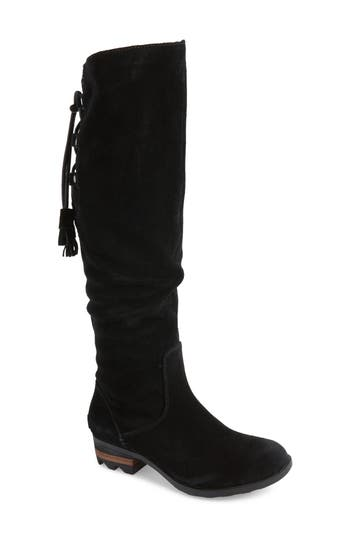 Sorel Farah Tall Waterproof Boot- Black