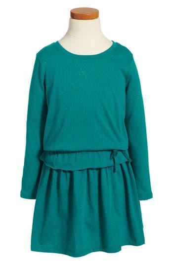 Girl's Tea Collection Ayr Adventure Dress, Size 4 - Blue/green