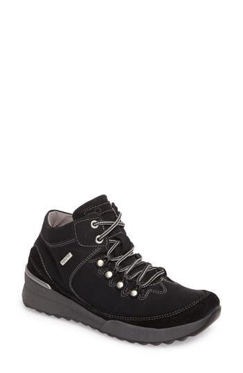 Romika Victoria 05 Waterproof Sneaker, Black