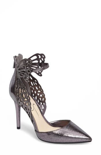 Jessica Simpson Leasia Butterfly Pump, Metallic