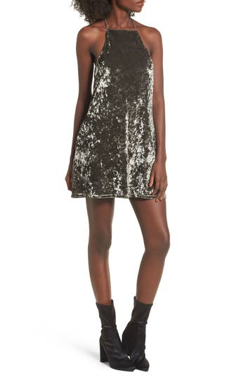 Nbd Lisa Shift Dress, Grey