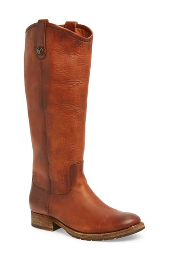 Frye Melissa Lug Boot- Brown