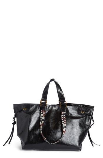 Isabel Marant Wardy Leather Shopper - Black at NORDSTROM.com