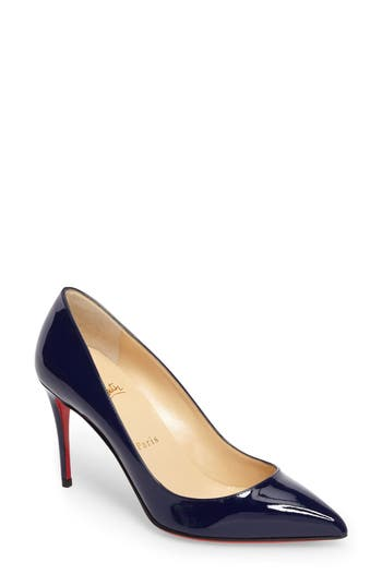 Christian Louboutin Pigalle Follies Pointy Toe Pump, Blue
