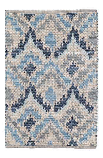 Dash & Albert Medina Woven Rug, Size Swatch - Blue