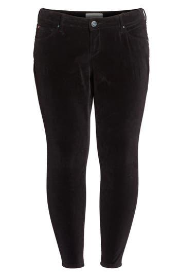 Velvet Skinny Ankle Jeans