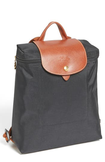 Longchamp 'Le Pliage' Backpack - Grey at NORDSTROM.com