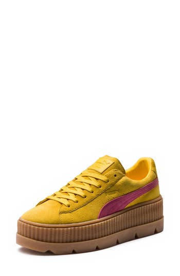 Fenty Puma By Rihanna Creeper Sneaker- Yellow