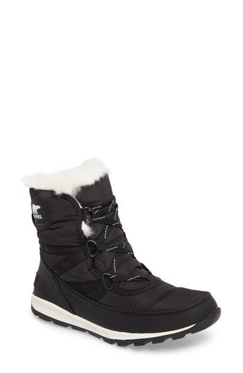 Sorel Whitney Snow Bootie, Black