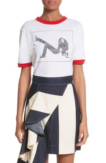 Calvin Klein 205W39Nyc Print Tee, White
