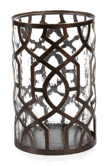 Zodax Large Trocadero Hurricane Candle Holder, Size One Size - Metallic