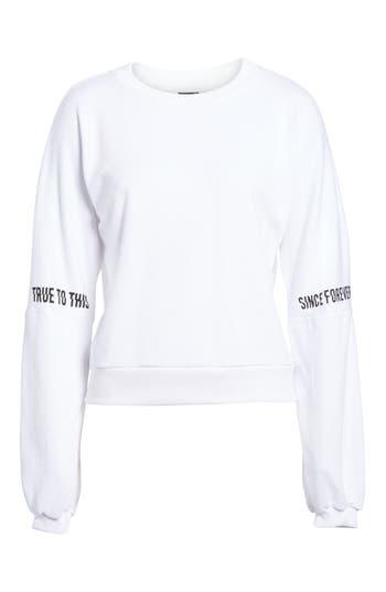 Volcom Crew To This Sweatshirt, White