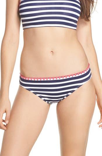 Tommy Bahama Breton Stripe Bikini Bottoms, Blue