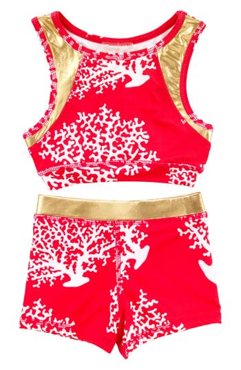 Girl's Masalababy Racerback Two-Piece Swimsuit