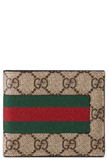 Gucci Supreme Wallet