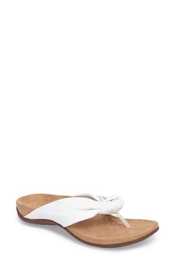 Vionic Pippa Flip Flop, White