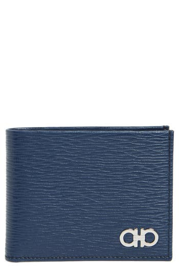Salvatore Ferragamo Revival Bifold Leather Wallet