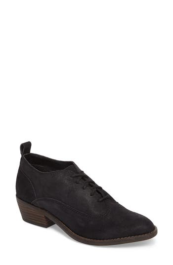 Lucky Brand Fantine Lace-Up Bootie, Black