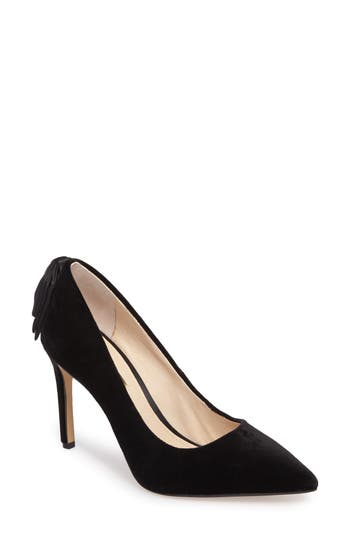 Louise Et Cie Josely Pointy Toe Pump- Black