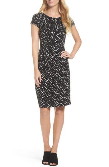 Leota Madison Stretch Sheath Dress, Black