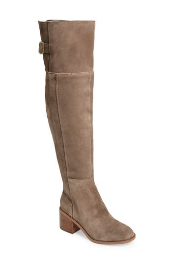 Sole Society Devlin Over The Knee Boot, Grey