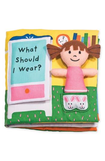 Infant Girl's Melissa & Doug What Should I Wear Soft Activity Book