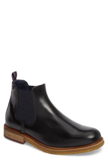 Ted Baker London Bronzo Chelsea Boot, Black