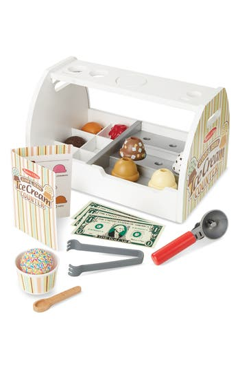Melissa  Doug Ice Cream Counter Play Set