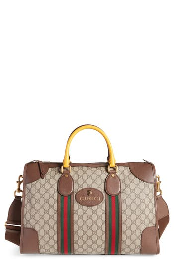 Gucci Neo Vintage Coated Canvas Duffel