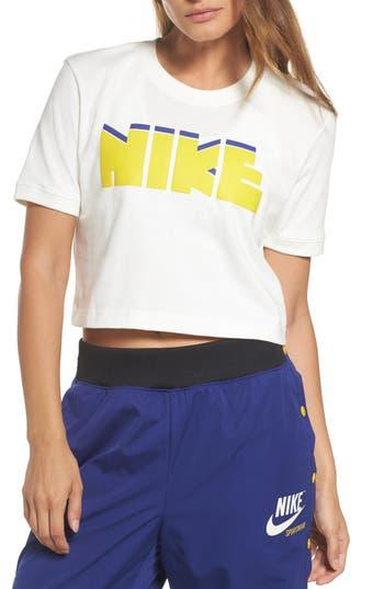 Nike Sportswear Archive Crop Tee, Ivory